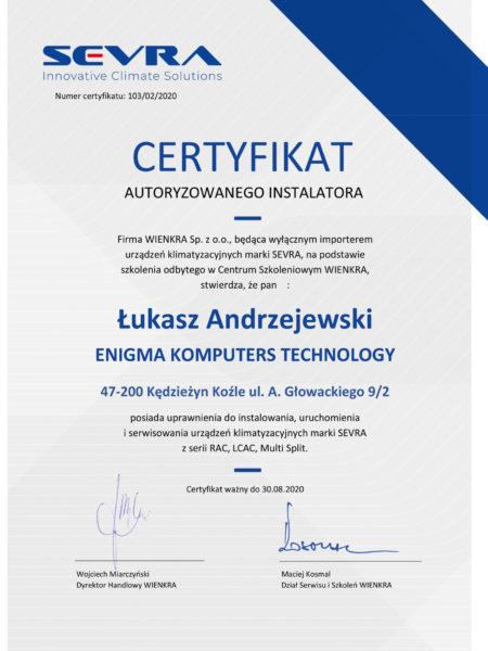certyfikat-sevra
